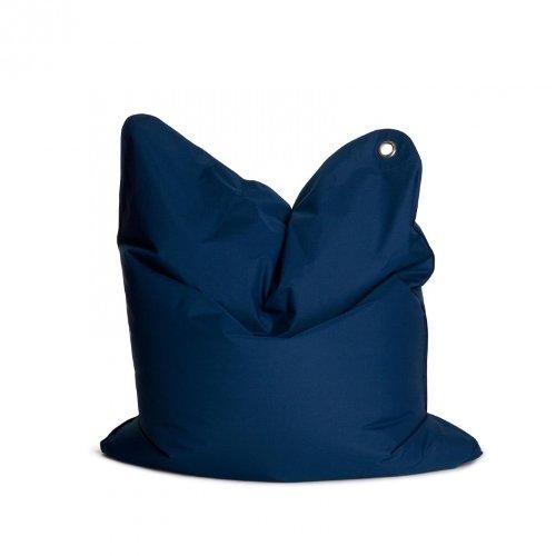 The Bull Medium Sitzsack, dunkelblau Nylon