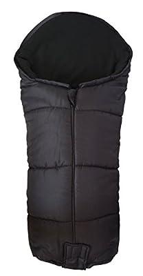 Deluxe–Saco/Cosy Toes Compatible con Graco oruga ágil Citi Mirage Evo Negro
