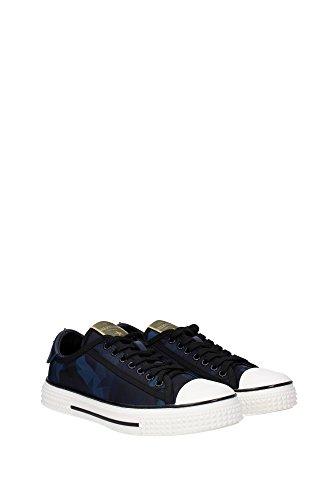 LW2S0103NYSM30 Valentino Garavani Sneakers Femme Tissu Bleu Bleu