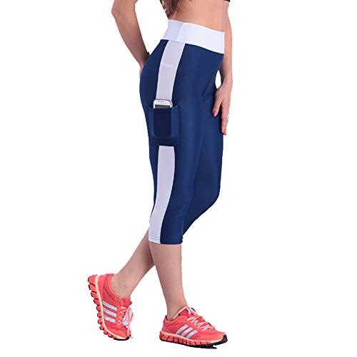 Feidaeu Mujeres Deporte Fitness Leggings Pantalones