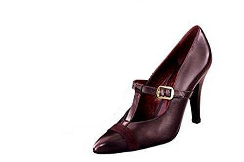 business, Scarpe col tacco donna Borgogna