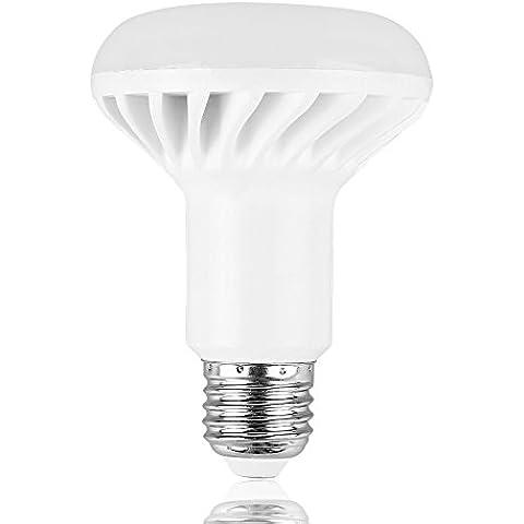 LemonBest® 12W R80 E27 Reflector LED Bombillas, 100W bombilla incandescente equivalente, 1000lm, blanco caliente, 2800K, Bombillas LED