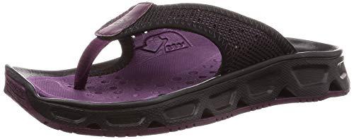 Salomon Damen Erholungsschuhe, RX BREAK 4.0 W, Farbe: violett/schwarz (potent purple/black/black) Größe: EU 40 2/3