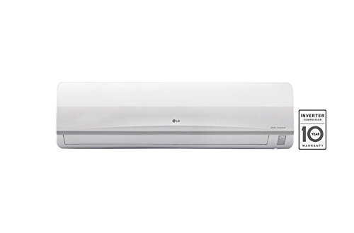 LG 2 Ton 3 Star Inverter Split AC (Copper Condensor, JS-Q24AUXA1, White)