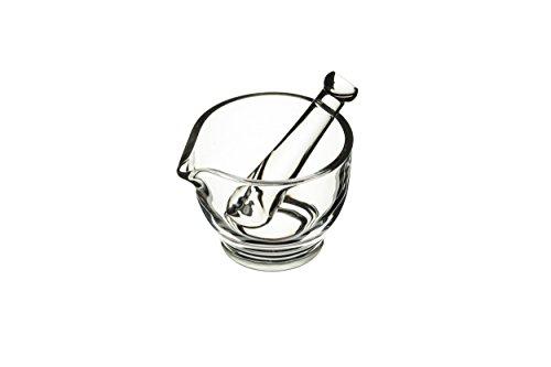 Kitchen Craft Master Class Plat Mini Pilon et mortier, 10 x 7,5 cm (10,2 x 7,6 cm) – en Verre