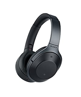 Sony MDR-1000X kabelloser High-Resolution Kopfhörer (Noise Cancelling, Sense Engine, NFC, Bluetooth, bis zu 20 Stunden Akkulaufzeit) schwarz (B01LD5GO5U) | Amazon price tracker / tracking, Amazon price history charts, Amazon price watches, Amazon price drop alerts