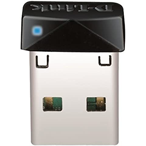 D-Link DWA-121 - Mini adaptador de red (USB 2.0, 150 Mbps, IEEE 802.11n/b/g, 2.4 GHz), negro