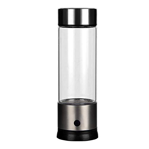 Wasserstoff Wasser Flasche Portable hohe Konzentration Negative Ionen-Cup-Gesundheit Erhaltung Cup Alkalische Wasserfilter Tragbare Ionisator Maker Health Preserving Cup BPA-frei mit Elektrolyse Wasse - Hoch Wasser