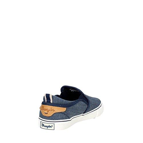 Wrangler Icon Slip On, Sneakers basses femme Bleu Marine