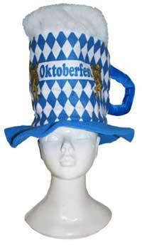 Cerveza sombrero de cristal en Oktoberfest de Look