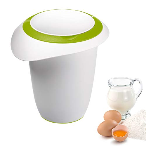 Westmark - Recipiente per frullatore, 1 l, Colore: Bianco/Verde Mela