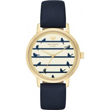 kate-spade-womens-new-york-metro-34mm-navy-leather-band-gold-tone-steel-case-quartz-analog-watch-ksw