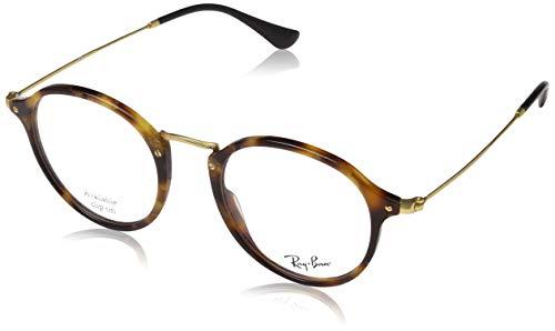 Ray-Ban Unisex-Erwachsene Brillengestell Light Ray, Schwarz (Negro), 49 Da-lite 49