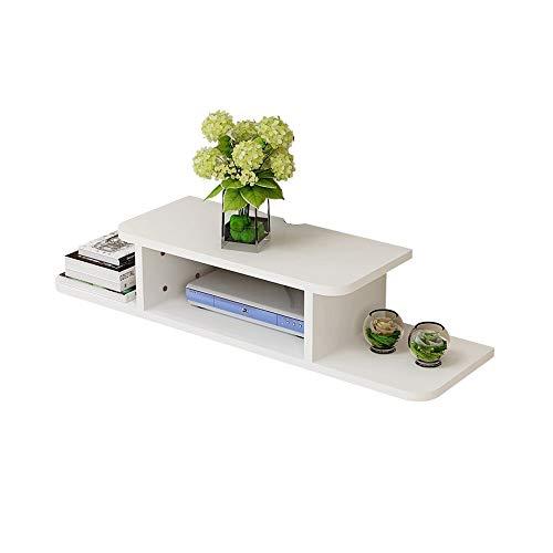 DEWUFAFA Router-Regal, Wand-TV-Schrank Finishing Rack - Home Schlafzimmer Wohnzimmer Einfache WiFi Rack 23,7