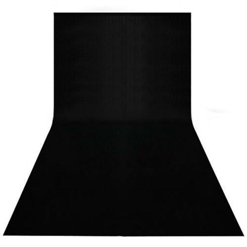 BPS 3x6M Backdrop Fondo Negro para Estudio de Fotografía, Vídeo, tela no tejido