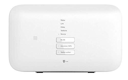Telekom Speedport Smart 3 in Weiß | Basis für WLAN-Mesh, Magenta Smart Home integriert, schnelles WLAN mit bis zu 2500 Mbit/s und verbesserter Reichweite, für Entertain TV -
