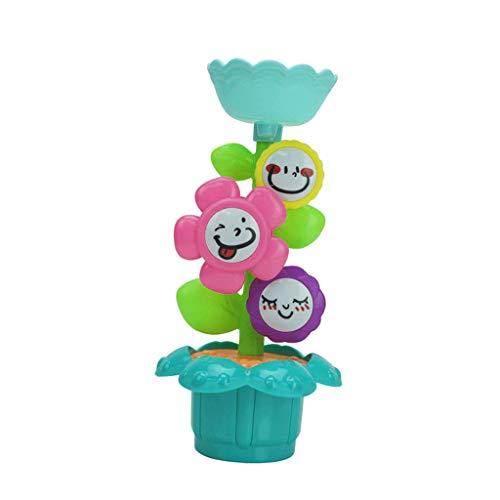 SM SunniMix Kinder Blume Wasserrad Wassermühle Badewannen Spielzeug, Sandkästen und Sandspielzeug