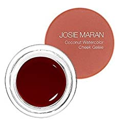 Full (.18oz/5.1g) , Honeymoon Honey: Josie Maran Coconut Watercolor Cheek Gelee (Full (.18oz/5.1g), Honeymoon Honey)