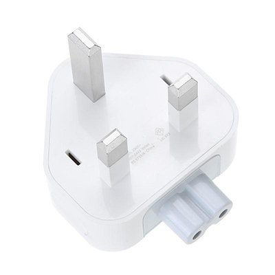 UK AC Adapter Wall Plug Duckhead for Apple Macbook iPad Power Charger