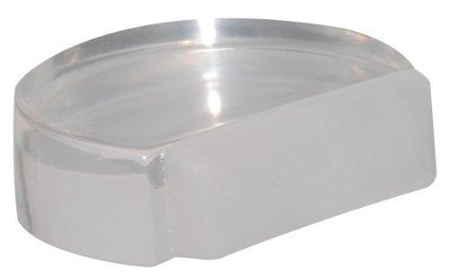 """WAGNER Bodentürstopper""""CLEAR"""" - Kunststoff, transparent, 45 x 39 x 16 mm, selbstklebend, rückstandslos entfernbar - 15502711"""