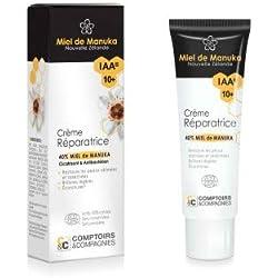 Comptoirs et compagnies iaa10+ crème réparatrice bio 40% miel de manuka