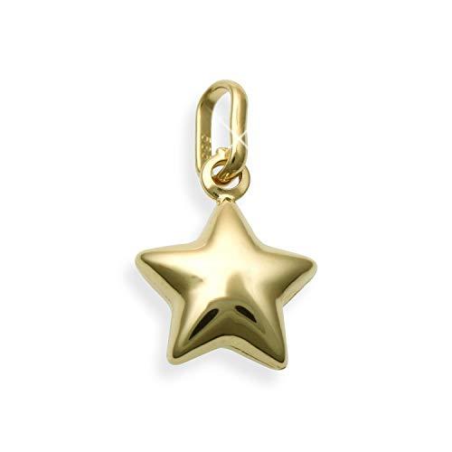 Kleiner Stern Charms Anhänger 14 Karat Gold 585 (Art.212082)