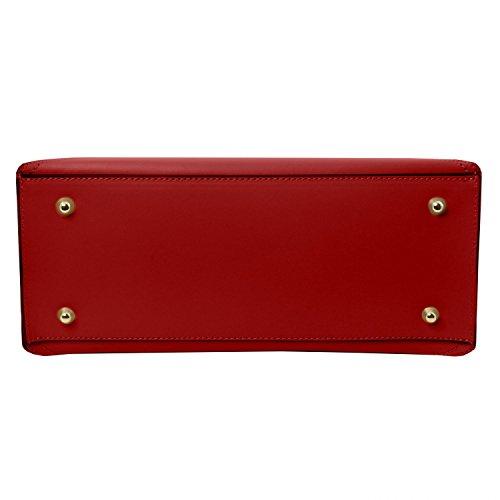 Tuscany Leather Nemesi Cityshopper aus Ruga Leder Rot Rot
