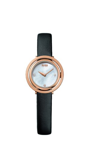 Hugo Boss - 1502276 - Montre Femme - Quartz Analogique - Bracelet Tissu Noir