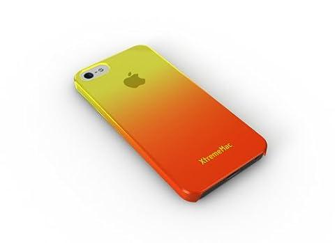 XtremeMac IPP-MFN-93 Microshield Fade Schutzhülle für Apple iPhone 5 gelb/orange