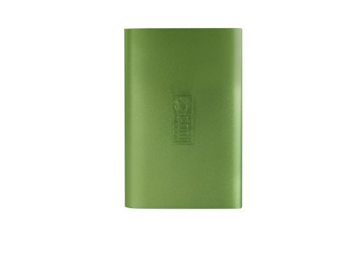 chiliGREEN externe Festplatte 1 TB 2.5'' USB 3.0 EF253.212 Ovado green (ALUMINIUM-Rahmen)