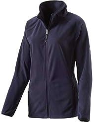 McKinley Damen-Fleece-Jacke Nelia II Azul Oscuro - Marino Oscuro/Marino Oscuro