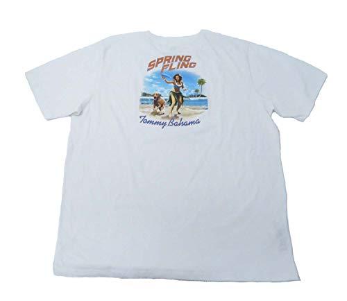 Tommy Bahama Spring Fling Large White T Shirt -