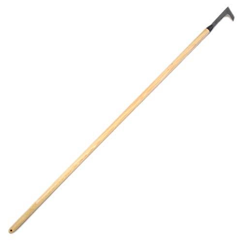 4betterdays.com NATURlich leben! Fugenmesser mit 140 cm Eschenholzstiel und Klinge aus Hochwertigem Stahl Gewicht: 380 gr - Handgeschmiedet in Deutschland