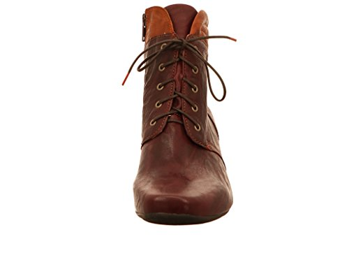Think! Damen Karena Desert Boots Rot (Wine/Kombi 33)