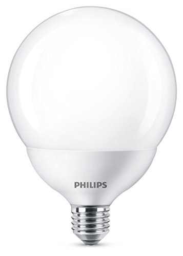 Philips Lighting Lampadina LED Globo, Attacco E27, 18 W Equivalente a 120 W, 2700 K, Luce Calda