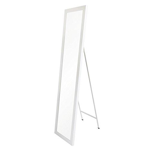 Espejo de pie nórdico Blanco de plástico para Dormitorio de 37 x 157 Fantasy - LOLAhome