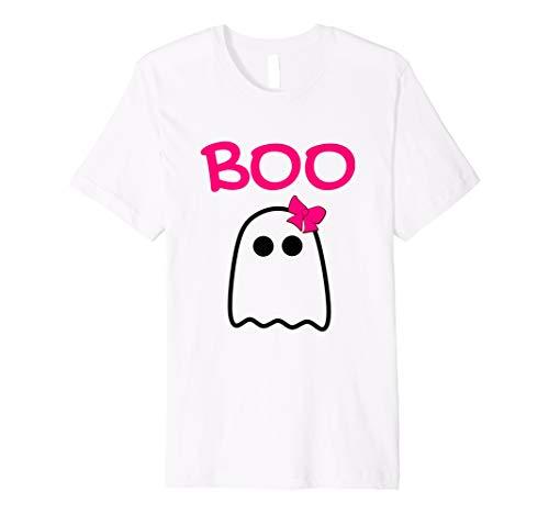 Unisex Kinder Halloween-Boo Shirt für Mädchen Kleinkind Kids