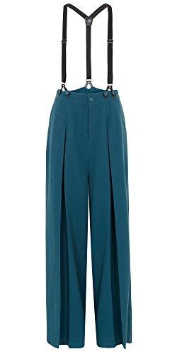 Voodoo Vixen -  Pantaloni  - Donna blu M