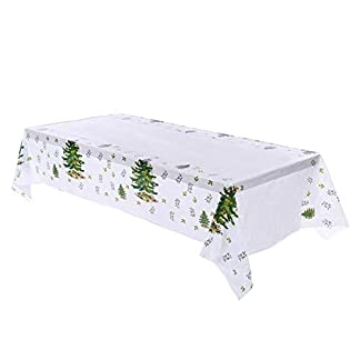 Snner 1pc Mantel De Navidad Vector De La Navidad Navidad De La Cubierta De Tela Vector De La Navidad Decoración Mantel para El Hogar del Partido De Cena De Cocina, Árbol
