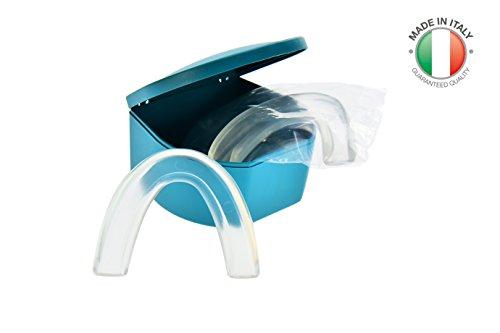 Doctor Bite Start – 2 x selbstmodelliernde Aufbissschiene gegen Bruxismus, Schnarchen und Zähneknirschen