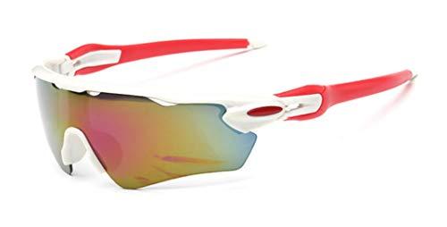 Fahrradbrille Sport Sonnenbrille Polarisierte Sportbrille Frauen Radfahren Laufen Fahren Angeln Golf Baseball Gläser Frauen für Herren und Damen