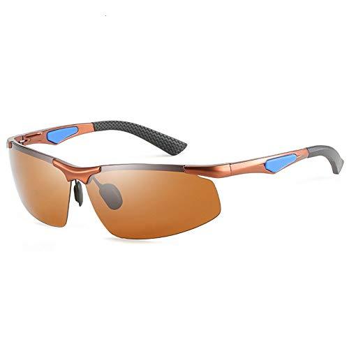 FURUDONGHAI Herren-Blackout-Sonnenbrille ohne Grenzen Ultraleichte, blühende Sonnenbrille für den Außenbereich. Sportreisen Fahren Reiten Sonnenbrille Strand Meer UV400-Schutz besonders geeignet für s