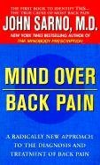 [Mind Over Back Pain] (By: Dr. John E Sarno) [published: November, 1999]