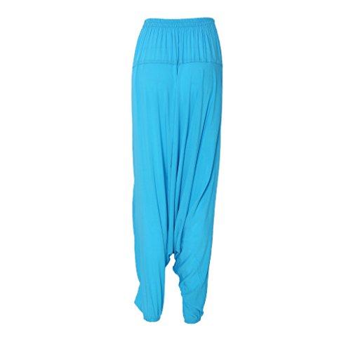 SLYlive - Pantalon de sport - Moderne - Femme Taille Unique noir foncé