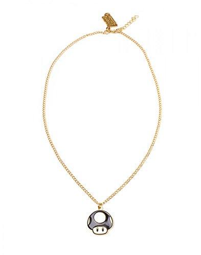 Nintendo - 1-Up-Pilz - Halskette   Original lizensiertes Merchandise   Gold