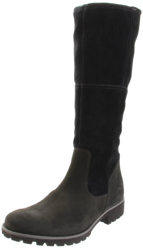 Timberland Damen ATRUS WP Tall DR Brown Stiefel, Schwarz/Black, 37 EU