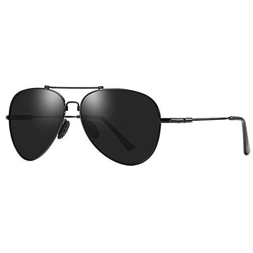 LEIAZ Polarisierte Sonnenbrille, Anti-Uv Metallgedächtnisstand Unisex Geeignet Für Reisen Im Freien