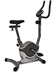 Movi Fitness MF604, Cyclette Magnetica Unisex – Adulto, Grigio/Argento, 83 x 43 x 117 cm
