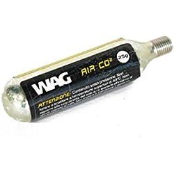Wag bombona de CO2de 25gr con ribete (para bombona)
