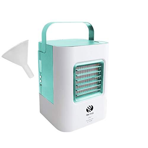 Hot!!! 2019 Tragbare Klimaanlage Air Cooler Luftbefeuchter/ 3 in1 Mobile Klimaanlage Luftreiniger Büro Desktop-Luftkühler Mini-Ventilator für Zuhause/drinnen, Küche, im Freien Fan (Desktop Panasonic)